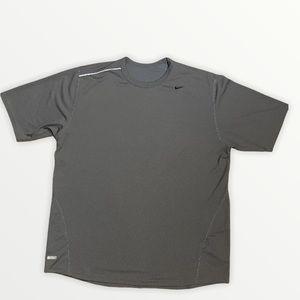 Nike Dry-Fit UV Men's Grey T-shirt Size Large